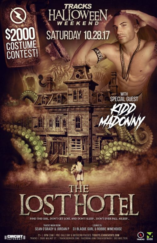 Tracks Halloween 2017 Lost Hotel